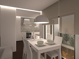 Minimalist dining room by 2L'atelier arquitectos Minimalist