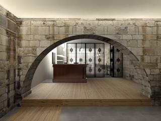 Cavas de estilo  por A3 Ateliê Academia de Arquitectura