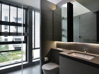 Sen's Photographyたてもの写真工房すえひろ Modern style bathrooms