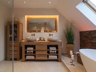 Rustic style bathroom by Boddenberg Rustic