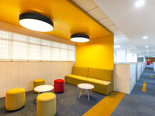 ISG Office Interiors Modern study/office by freedom of design Modern