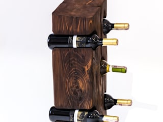 Stojaki na wino BELKI od ZLASU Rustykalny