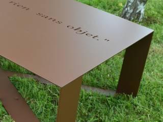 TABLE BASSE T-STEEL HAPPINESS par ID DE STYLE Moderne