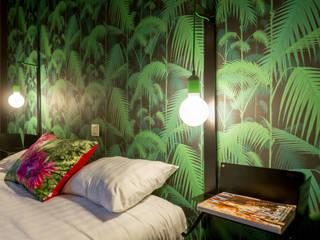 AMENAGEMENT DE CHAMBRE D'HOTEL par ID DE STYLE Éclectique