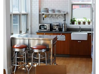 Industrial style kitchen by La Bocheria Industrial