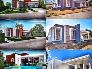 Projeto residêncial por Studio TrêsD Design & Projetos