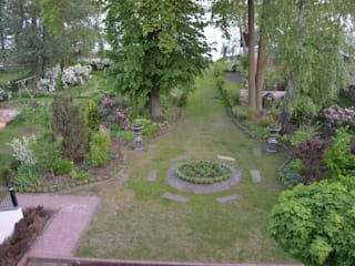 Country style garden by NIE GESEHENE GÄRTEN® Country