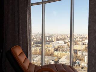 Квартира 114 м2 в эклектичном стиле: Tерраса в . Автор – Надежда Лашку