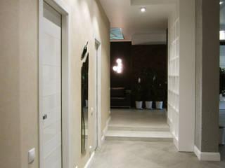 Квартира 114 м2 в эклектичном стиле: Коридор и прихожая в . Автор – Надежда Лашку