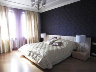 Таунхаус 240 м2 в Павловской слободе Спальня в стиле модерн от Надежда Лашку Модерн