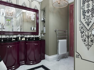 Salle de bains de style  par D-SAV     ДИЗАЙН ИНТЕРЬЕРА И АРХИТЕКТУРА