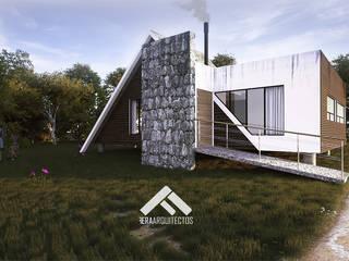 Skandinavische Häuser von FERAARQUITECTOS Skandinavisch