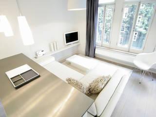 City Apartment Salas de estilo moderno de THE FRESH INTERIOR COMPANY Moderno