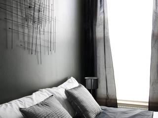City Apartment Cuartos de estilo moderno de THE FRESH INTERIOR COMPANY Moderno