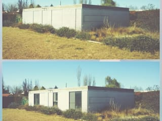Industrial style houses by metrocubico . taller de arquitectura Industrial