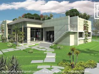 Oficinas Experience Center Venezuela- Smurfit Kappa, Vanezuela Casas de estilo escandinavo de Eisen Arquitecto Escandinavo