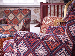 Kilim Armchairs:   by The Millshop Online