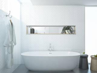 Baños modernos de olivia Sciuto Moderno
