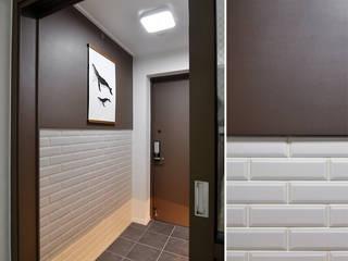 JMdesign Modern corridor, hallway & stairs