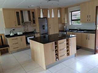 TCC interior projects cc Kitchen Chipboard Wood effect