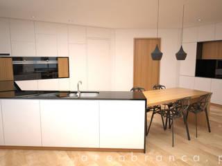 Projeto EA Cozinhas modernas por Areabranca Moderno