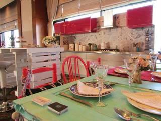 Ambientación cocina - comedor | COOKING FUN Comedores eclécticos de G7 Grupo Creativo Ecléctico