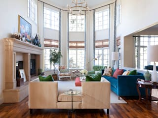 Belcaro Beauty:  Living room by Andrea Schumacher Interiors