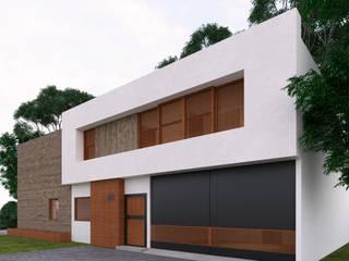 Casa SR de Rodríguez + Zermeño Arquitectura y Construcción S.A. de C.V.