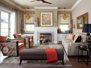 Supremely Sophisticated:  Living room by Andrea Schumacher Interiors