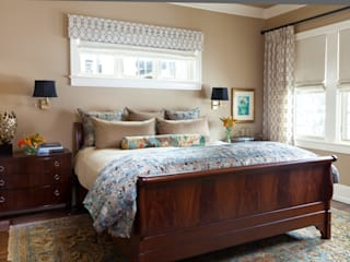 Supremely Sophisticated:  Bedroom by Andrea Schumacher Interiors