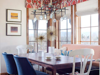 Dining room by Andrea Schumacher Interiors,
