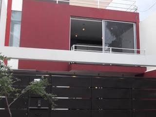 CASAS XOCOC-ATL ARQUIMIA ARQUITECTOS: Casas de estilo moderno por Arquimia Arquitectos