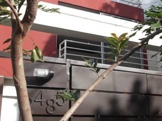 CASAS XOCOC-ATL ARQUIMIA ARQUITECTOS: Casas de estilo  por Arquimia Arquitectos, Moderno