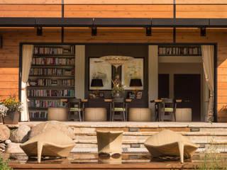 Andrea Schumacher Interiors Oficinas y bibliotecas de estilo ecléctico