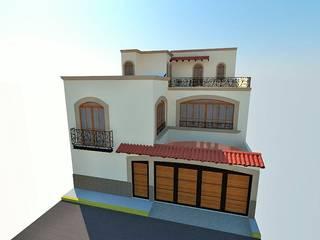 Proyecto Sainz:  de estilo  por RHS ARQUITECTOS,