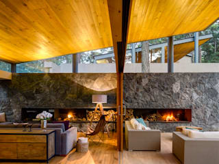 客廳 by Weber Arquitectos