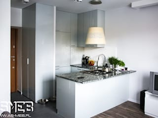 AS-MEB Kitchen MDF Grey