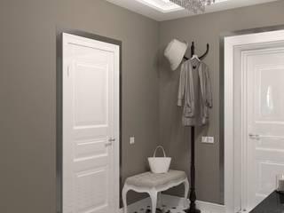 Прихожая в неоклассике Коридор, прихожая и лестница в классическом стиле от DS Fresco Классический