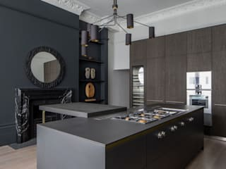 Belsize Park: North West London Roselind Wilson Design مطبخ