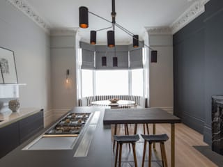 Belsize Park: North West London Cuisine moderne par Roselind Wilson Design Moderne