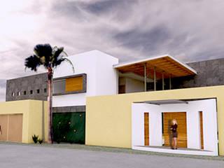 CASA VN VERACRUZ Casas minimalistas de AD+d Minimalista