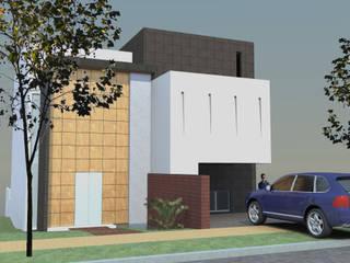 CASA MP Casas minimalistas de AD+d Minimalista