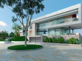 Houses by Area5 arquitectura SAS, Modern