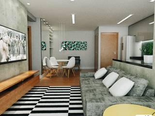 Dining room by 285 arquitetura e urbanismo, Industrial