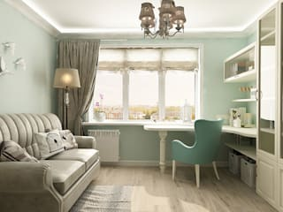 Country style nursery/kids room by Алёна Демшинова Country