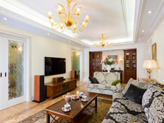 Classic style living room by архитектурная мастерская МАРТ Classic