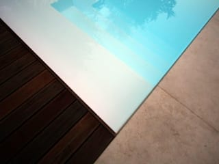 Modern Pool by sandra marchesi architetto Modern