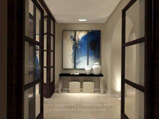 Reforma de hotel en el centro histórico de Marbella Hoteles de estilo mediterráneo de David Marchante | Inmaculada Bravo Mediterráneo