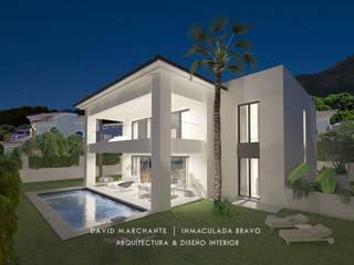 Vivienda en la Capellanía (Alhaurín de la Torre) Casas de estilo mediterráneo de David Marchante | Inmaculada Bravo Mediterráneo