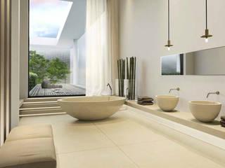 Interiors design di effesseprogetti® Moderno Pietra